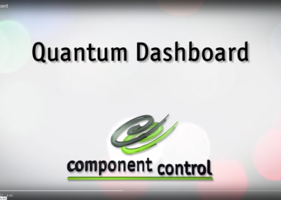 Quantum Control Dashboard Video